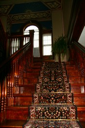 Putnam House staircase